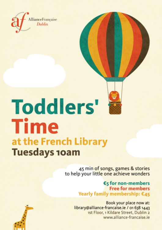Toddlers Workshops Dublin